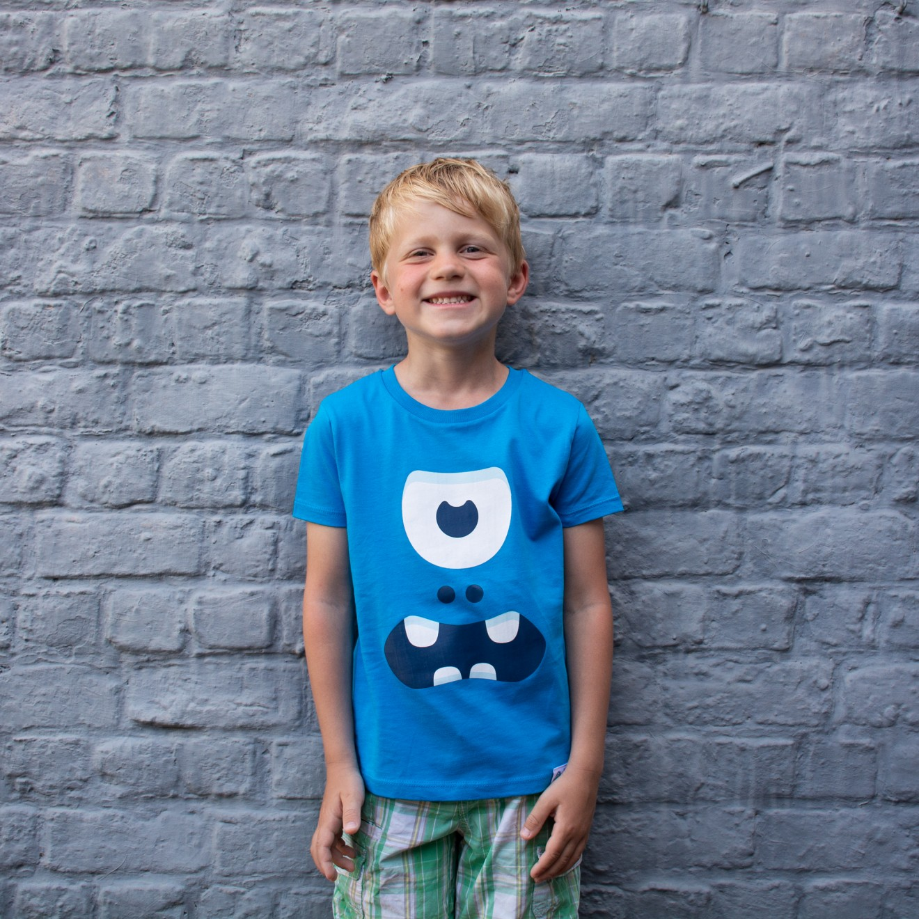 Image of the product Grumpy blue, from the product category T-shirts