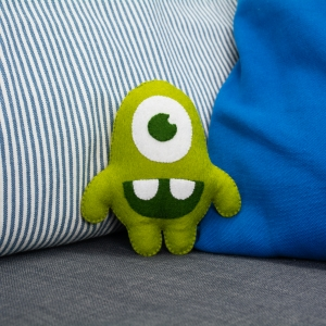Image of the product Green Eddy, from the product category Cuddly toys